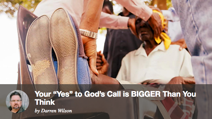 "Filming God - Your ""Yes"" to God's Call is BIGGER Than You Think"